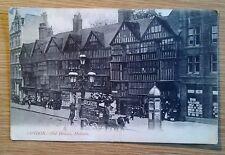 POSTCARD: LONDON, HOLBORNE, OLD HOUSES: c1902