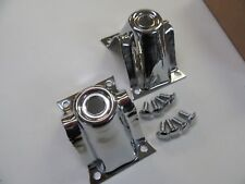 62 63 64 65 66 67 NOVA CHEVY II NEW PAIR OF CHROME STEEL SHOCK TOWERS