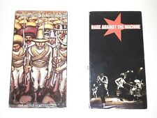 Rage Against The Machine-Battle Of Mexico City,R.A.T.M. Lot Of 2 Vhs Tapes