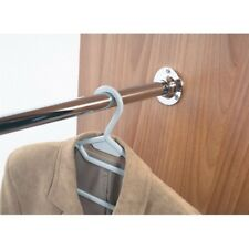 Wardrobe Hanging Rail End and Support Brackets 25mm