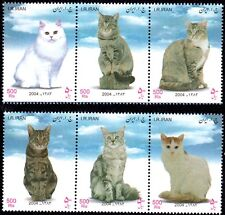 Middle East 2004, Beautiful Cats , Stamp set MNH