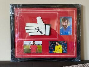 Alisson Becker Signed Glove Liverpool Authentic COA Proof Official LFC 99p Start
