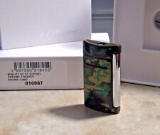 S.T. Dupont MiniJet Torch Lighter,BROWN CAMO W/ CHROME FNSH  10087 New free ship