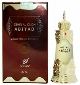 Dehn al Oudh Abiyad by Afnan Perfumes Musk Agarwood Oudh Concentrated Oil