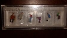N scale Preiser Seated Persons set of 6 79054 NIP