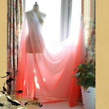 2 Yds 30D Red White Gradient Chiffon fabric Dancing dress Chiffon material Gauze