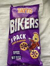 Tayto Bikers Spicy Flavour 5 Pack Crisps