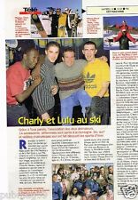 Coupure de Presse Clipping 1998 (1 page) Charly et Lulu