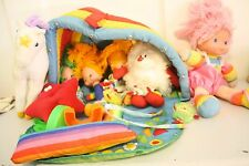 Rainbow Brite Lot- Playhouse, Tink Sprite, PAtty o Green, Starlight Horse, Baby
