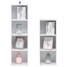 Raumteiler Bücherregal Bücherschrank Standregal Aktenregal Büroregal Weiß #1309