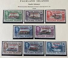 FALKLAND ISLANDS 4L1 - 4L8 2cnd Printing 1L13 Beautiful Mint NEVER Hinged Set AG