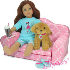 "Pull Out Sofa Double Bed for 18"" American Girl Doll Furniture Sofa Sleeper"