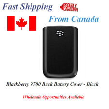 BlackBerry Bold 9700 9780 Black Battery Cover Black Replacement New