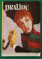 Praline Nr. 13 / 1954 Zeitschrift Taschenbuch Format H. Bauer Verlag K-1567
