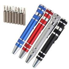 8 in 1 Pocket Precision Mini Screwdriver Pen Multi-purpose DIY Repair. UK Seller