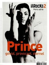 PRINCE LES INROCKS 2 FRENCH MAGAZINE APRIL 2016 MAG FRANCE 98 PAGES TRIBUTE