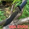 Survival Knife Field Knife Fixed Blade Knives 12.2Inch Tactical Knife Bushcraft