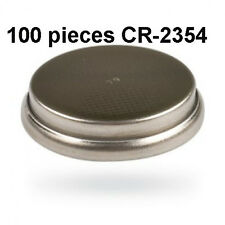 CR2354, CR 2354 3V Button Coin Cell Battery Genuine 3.0V - 100 Pieces