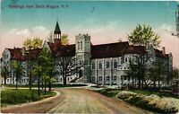 Vintage Postcard - Greetings from Stella Niagara Castle New York NY #4229