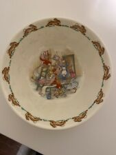 royal dalton bunnykins plates and bowl