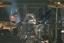 Eric Singer Hand Signed 12x8 Photo KISS.