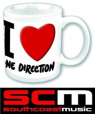 Official Product 1D One Direction I Love 1D Boxed Coffee Mug Cup Gift Drinkware