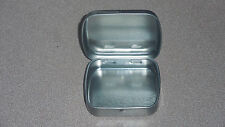Small Metal Altoid Box Container with Hinged Lid