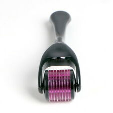 Titanium Micro Needle Roller 540 Needle Derma Scar Acne Cellulite Loss SPA 1.5mm
