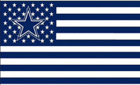 Cowboys FLAG 3X5 Dallas Banner American Football New Fast USA Shipping S