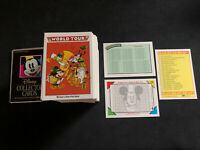 1991 IMPEL WALT DISNEY MICKEY MOUSE COLLECTORS COMPLETE (210) CARD SET