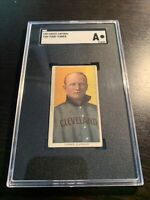 1910 T206 Piedmont Cigarettes Terry Turner SGC A Authentic