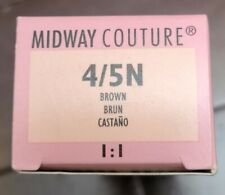 Wella Midway Couture Demi-Plus Haircolor SEALED 4/5N Brown Brun - 2 oz 1:1