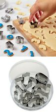 STAINLESS STEEL 0-9 NUMBER CUTTER BAKING SET COOKING MOULD COOKIE CAKE CRAFT 217