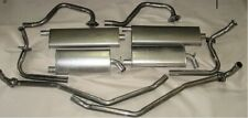 1966 BUICK RIVIERA DUAL EXHAUST SYSTEM, ALUMINIZED WITH RESONATORS