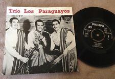 """7"""" trío LOS PARAGUAYOS MARIA DOLORES EP Philips."""