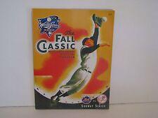 NY Mets NLCS 2000  GAME 5  & Met/Yankee World Series Program