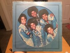JACKSONS: The Jacksons LP picture disc rare Soul 100% Authentic Michael Jackson
