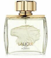 Lalique ( Lion ) Pour Homme Men Eau de Parfum Spray 2.5 oz - Tester With Cap NEW