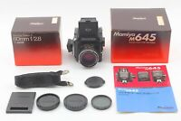 [MINT in BOX] Mamiya M645 w/ Sekor C 80mm f/2.8 Waist Level finder Japan #394