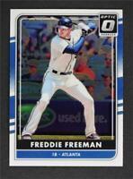 2016 Donruss Optic #96 Freddie Freeman - NM-MT
