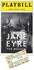 "James Barbour ""JANE EYRE"" (Musical) Marla Schaffel 2001 Playbill / Ticket Stub"