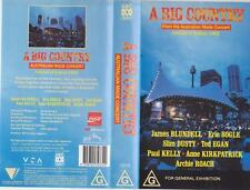 SLIM DUSTY A BIG COUNTRY SYDNEY 1992 VIDEO PAL VHS A RARE FIND MINT SEALED