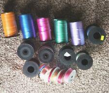 Assorted Colors Of Berwick Curling Ribbon Bonus Other Brands and Colors Euc