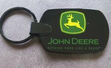 John Deere Nothing Runs Like A Deere Coffeyville Works Rubber Keychain