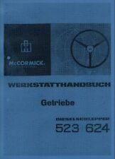 Werkstatthandbuch Getriebe IHC 523 624 auch für 553 654 724 824