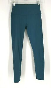ALO- WOMEN'S SIZE SMALL - BLUE YOGA FITNESS ACTIVEWEAR PANTS