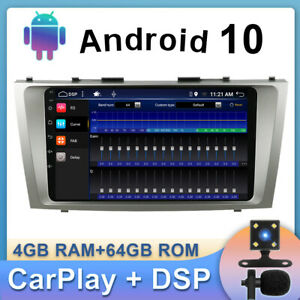 """9"""" Android 10 Car Stereo  For Toyota Camry Aurion Navi Head Unit DAB 4G Wifi DSP"""