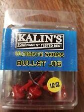 KALIN'S Ultimate Series Bullet Jigs RED 1/2 oz