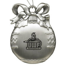 University of West Florida - Pewter Christmas Tree Ornament - Silver