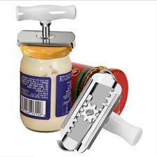 Adjustable Stainless Can Jar Tin Bottle Opener Food Kitchen Tool Anti-slip U5C9X